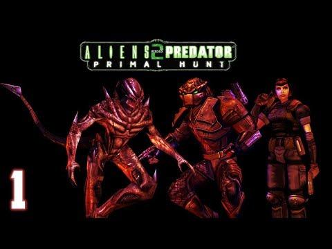 Aliens vs. Predator 2: Primal Hunt - Predalien Walkthrough Part 1 - Lifecyclus |