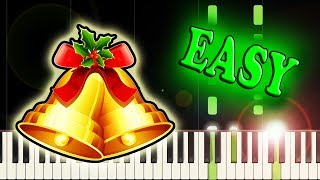 JINGLE BELLS - Easy Piano Tutorial