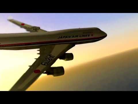 Japan Airlines Flight 123 - Crash Animation 2