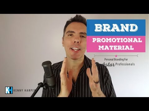 Tips for Promotional Material for Your Personal Brand