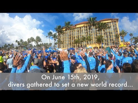 Charlie Parker - 633 Scuba Divers Set a World Record by Cleaning Up Ocean Garbage