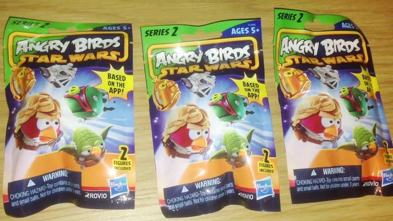 Blind Bag Mystery 033 Angry Birds Star Wars Mini Figures ...