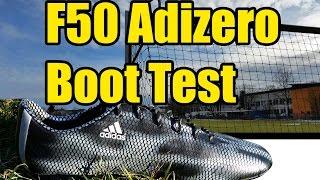 Adizero F50 2015 Boot Test + Written Review #ThereWillBeHaters   soccer-fans.de