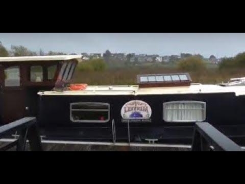 'Lovely Leitrim', Barge Boatel Enniskillen Co Fermanagh