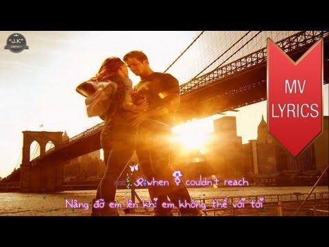 Because You Loved Me | Celine Dion | Lyrics [Kara + Vietsub HD]