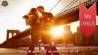 Because You Loved Me | Celine Dion | Lyrics [Kara + Vietsub HD]