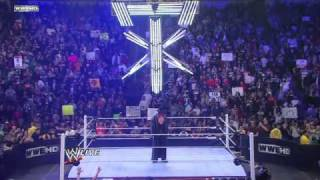 HHH vs The Undertaker at WrestleMania 27