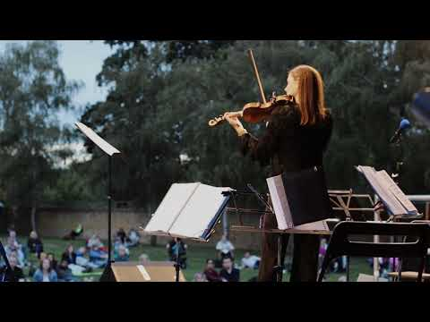 Violinist Emma Fry at Chiswick Festival 2020