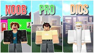 ROBLOX NOOB vs PRO vs DIOS: CASAS en BLOXBURG