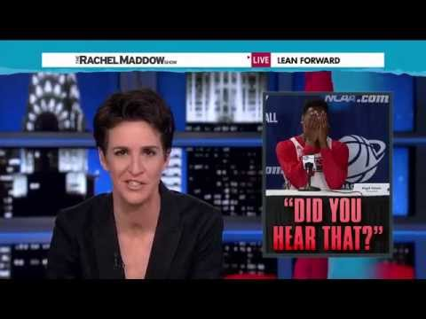 Rachel Maddow and the Stenographer