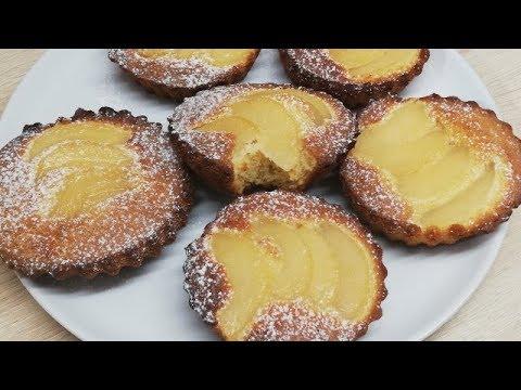 petits-gÂteaux-moelleux-aux-poires-trÈs-facile-(cuisine-rapide)