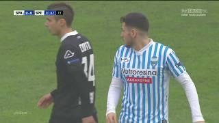 Alessandro Deiola in Spal-Spezia 2-1 del 10/12/2016 | Serie B