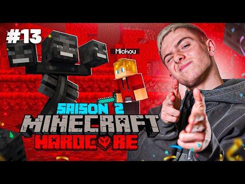 ON SE PRÉPARE POUR AFFRONTER LE WITHER ! (Aventure Minecraft Hardcore #13)