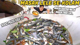 Download lagu MASAK 1000 PECEL LELE EKSTRA MICIN ENAK GURIH ALOT LUR