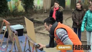 graffiti-fabriek - graffitifeestje Rosalie