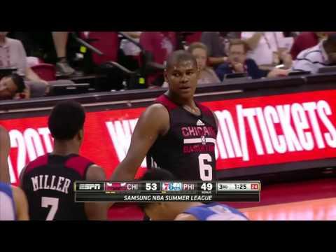 Chicago Bulls vs Philadelphia 76ers | July 10, 2016 | NBA Las Vegas Summer League 2016