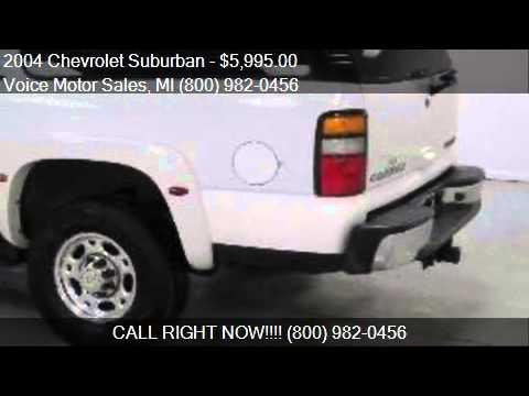2004 chevrolet suburban ls quadrasteer 4x4 4 door for sale for Voice motors kalkaska mi