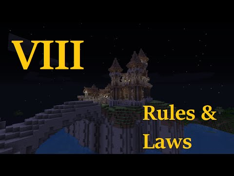 Minecraft: The Four Kingdoms #8 - Rules and Laws - Sir Sephilar