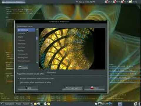 ubuntu - Electric Sheep Screen Saver