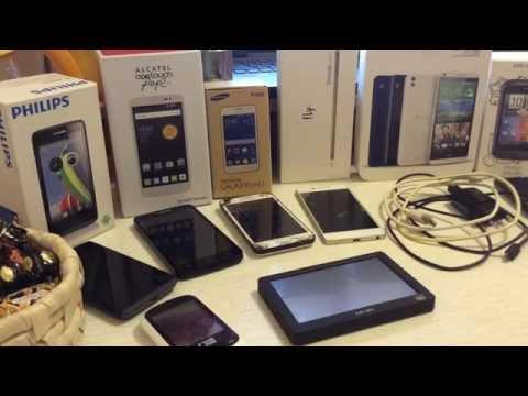 Продаю 5 телефонов: Fly,MTC,HTC,Alcatel,Philips+зарядное устройство,плеер