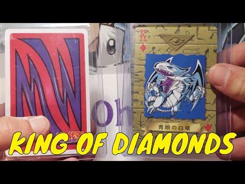 RAREST YU-GI-OH POKER CARDS EVER MADE! Japanese 1998 Toei Animation OCG Playing Cards KING BLUE EYES