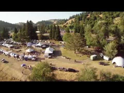 Summer Arts and Music Festival tour - Benbow, California