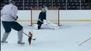 Mini Player McDonalds - NHL Star Helmet commercial