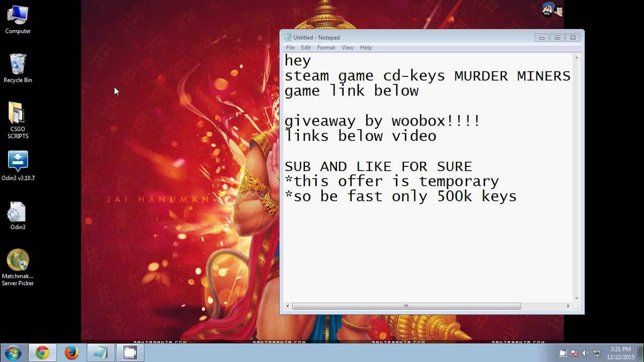 STEAM GAME FREE DEC 2015 CD KEYS (LIMITED)by woobox - YouTube