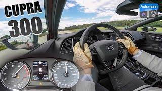 2018 SEAT CUPRA 300 ST 4Drive - 0-200 km/h acceleration (60FPS)
