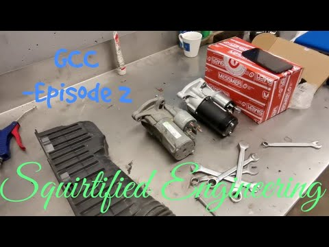 SqE – General Car Care – Episode 2 – Peugeot 206 how to replace the starter motor