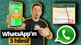 Son görülmeyi dondurduk, WhatsApp'ın 5 hilesini denedik!