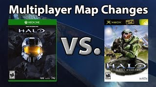 Halo Combat Evolved Multiplayer Map Changes in Original Xbox vs. MCC/PC