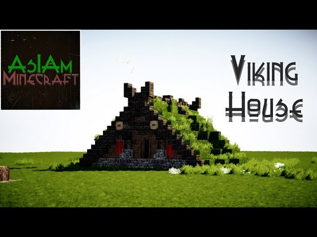 Minecraft Tutorial Viking House By Asiaminecraft Youtube
