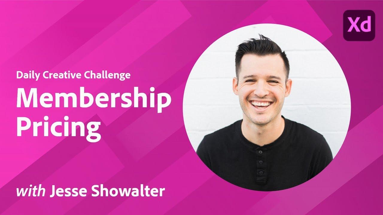 Creative Encore: XD Daily Creative Challenge - Membership Pricing
