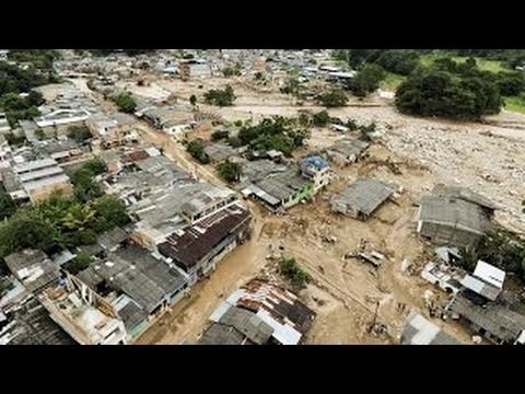 MOCOA DESPUÉS DE LA AVALANCHA ASI QUEDO | COLOMBIA | DESASTRES NATURALES 2017