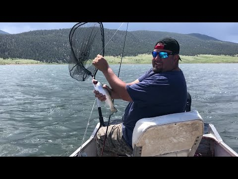 Eagle Nest Lake New Mexico Pike Tournament Trout Fiesta