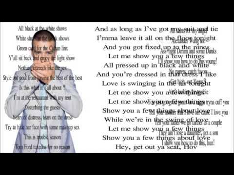 Justin Timberlake ft. Jay-Z - Suit , Tie (Lyrics) - YouTube Justin Timberlake Suit And Tie Lyrics