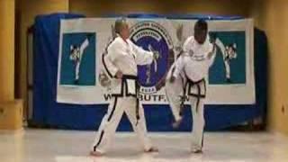 Taekwondo BUTF  Instructors 1 step sparring
