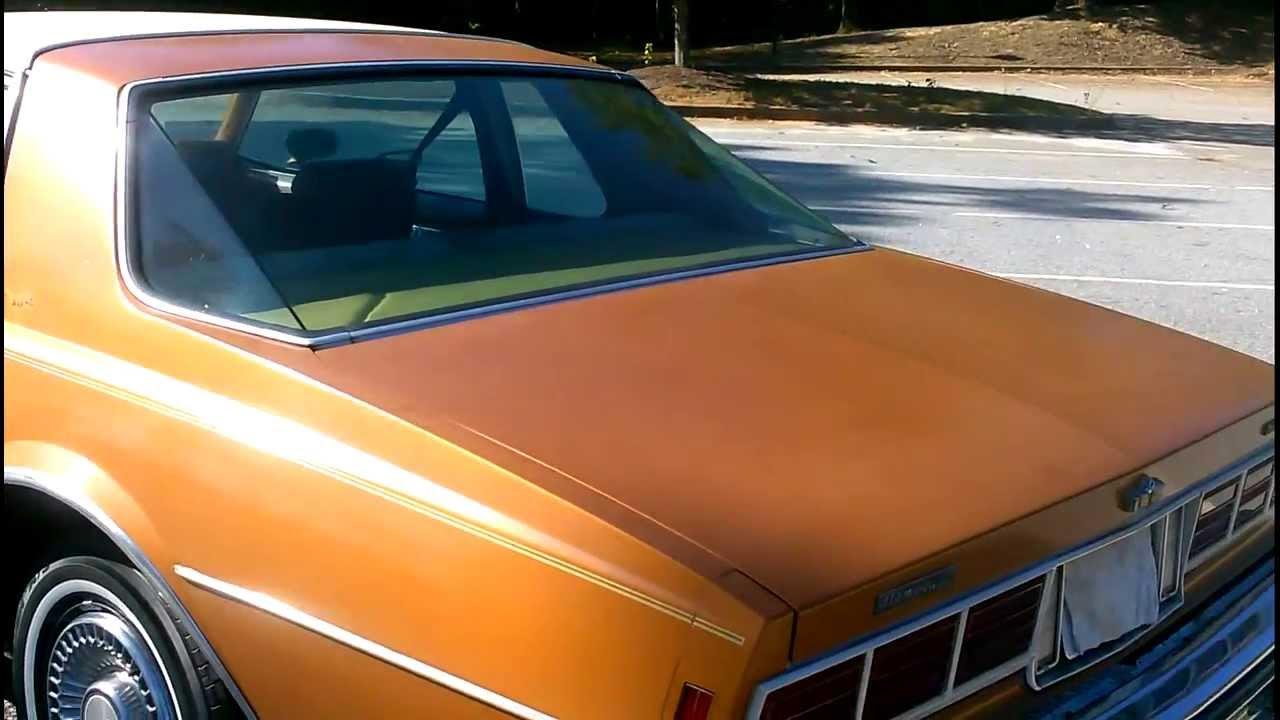 1978 Chevrolet Caprice Classic Landau Coupe - YouTube