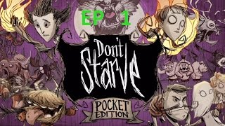 Don't starve pocket edition ep1