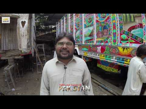 Haider Ali, Pakistani Truck Artist - Interview (Engl. translation)