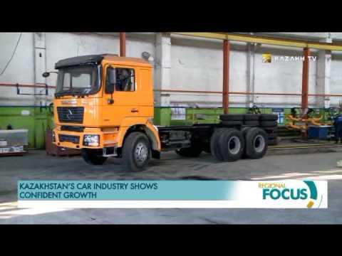 Kazakhstan's car industry shows confident growth