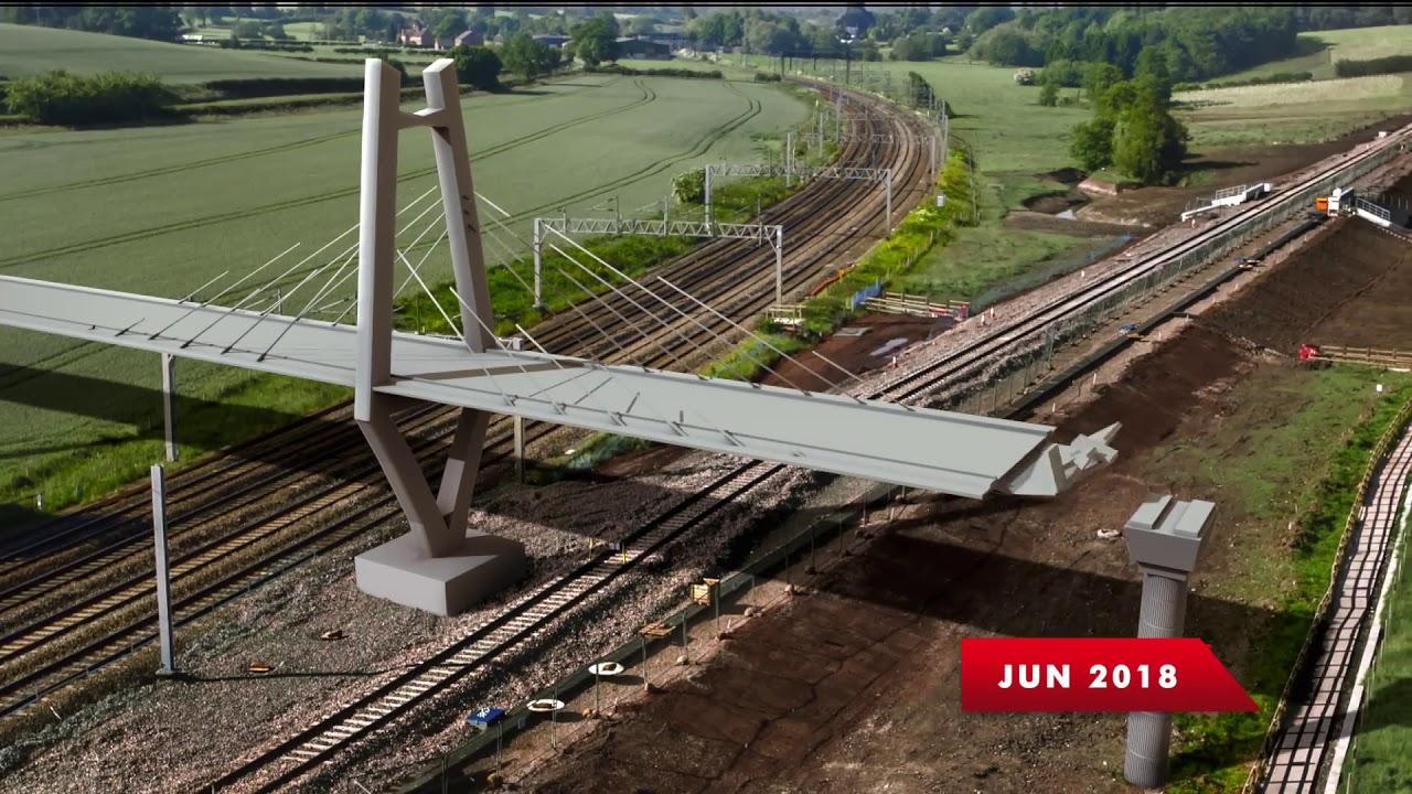 Bullet Train in India Mumbai to Ahmedabad Hi Speed Rail Corridor Project