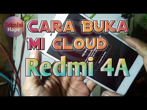 Cara Buka Akun -Mi cloud Semua tipe Xiomi Yg terkunci..