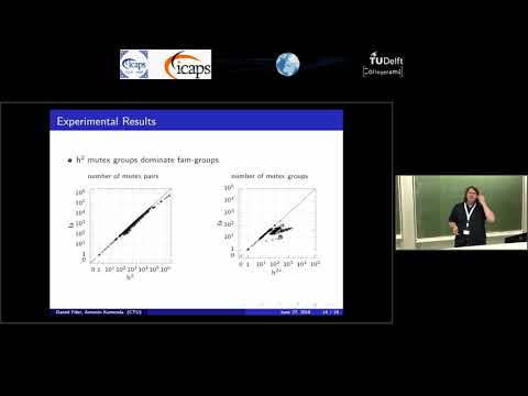 """ICAPS 2018: Daniel Fišer On """"Fact-Alternating Mutex Groups For Classical Planning"""""""