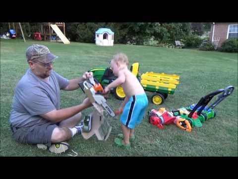 Bryce Gets A New Stihl Chainsaw