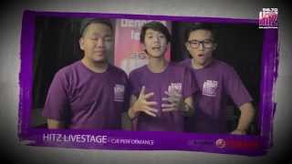 HITZ Live Stage Trio Paling Hitz - CJR Bersama Yamaha