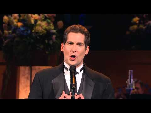 """Dallyn Bayles sings """"Bring Him Home"""" with the Mormon Tabernacle Choir"""