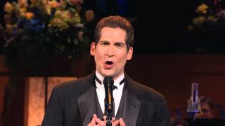 "Dallyn Bayles sings ""Bring Him Home"" with the Mormon Tabernacle Choir"