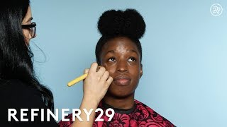 I Got Transformed Into Janelle Monae | Beauty Evolution | Refinery29